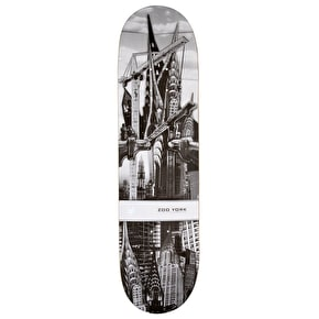 Zoo York Made In America Crysler Skateboard Deck - 8.25