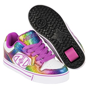 Heelys Motion Plus - White/Rainbow/Pink
