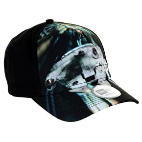 New Era Star Wars Scene Trucker Cap - Black/Silver