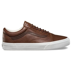 Vans Old Skool Shoes - (Leather) Dachshund/Potting Soil