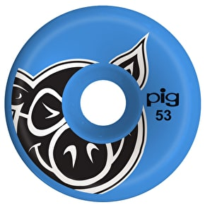 Pig C-Line Skateboard Wheels - Blue 53mm