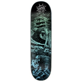 Creature Pro Black Abyss Skateboard Deck - Russell 8.5