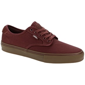 Vans Chima Ferguson Pro Skate Shoes - Madder Brown/Gum