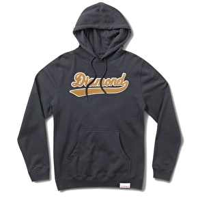 Diamond League Chenille Applique Hoodie - Navy