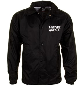 Spitfire Venice Coach Jacket - Black/White