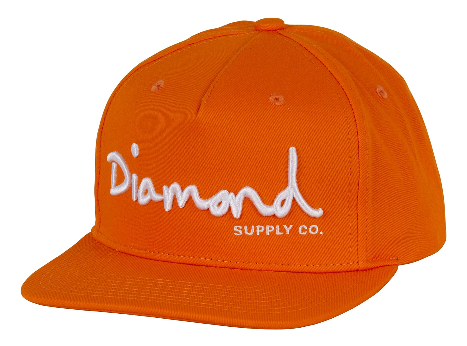 0cf754ebb7d Diamond Supply Co OG Script Snapback Cap - Orange