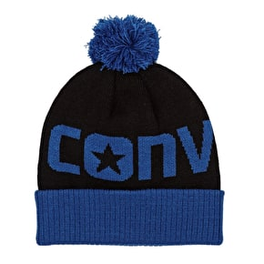 Converse Youth Bobble Hat Blue