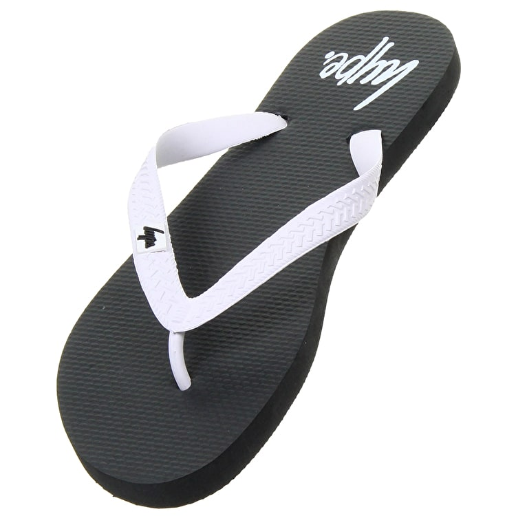 Hype Flip Flops- Black/White