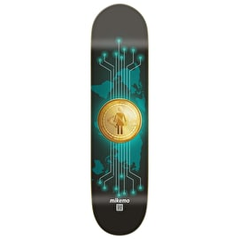 Girl Off'S - Crypto Currency - Mike Mo Skateboard Deck 8