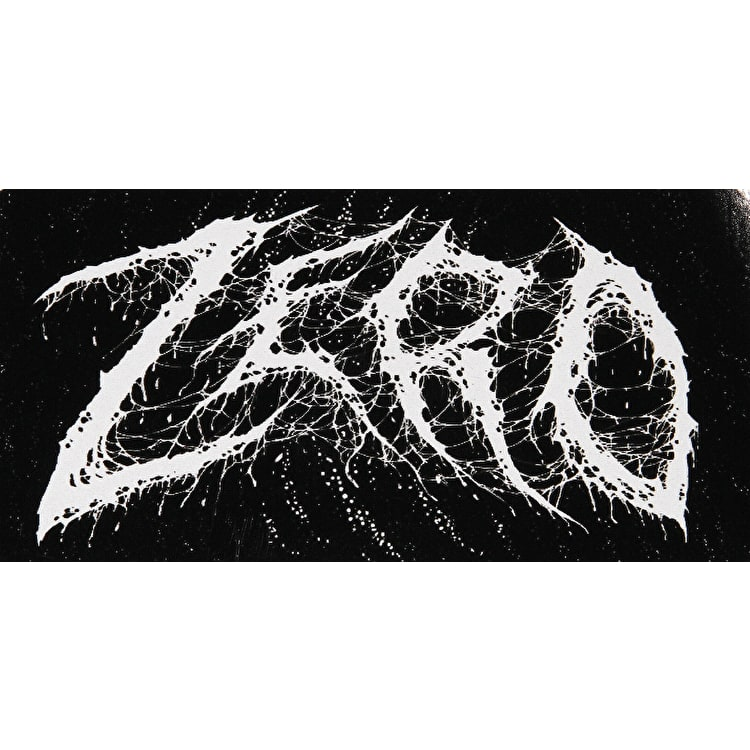 Zero Am I Demon Text Skateboard Sticker