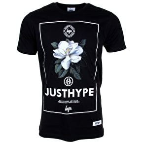 Hype T-Shirt - English Garden - Black