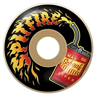 Spitfire Formula Four Schaaf Lifers 99D Skateboard Wheels - 56mm
