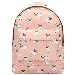 Mi-Pac Mini Pugs Backpack - Peach