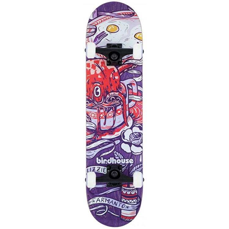 Birdhouse Stage 3 Armanto Complete Skateboard - Purple 7.75""