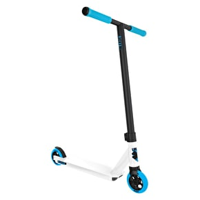 Lucky 2017 Crew Pro Complete Scooter - White/Cyan