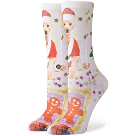 Stance Mrs Paws Womens Socks - White