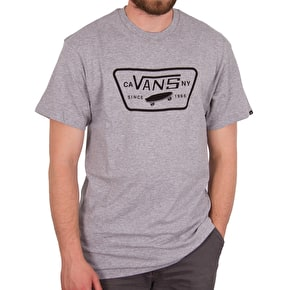 Vans Full Patch T-Shirt - Athletic Heather/Dress Blues