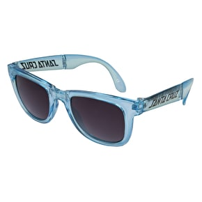 Santa Cruz Trans Sunglasses - Clear Blue