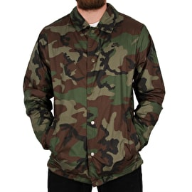 Nike SB Shield Icon Coaches Jacket - Medium Olive/Black