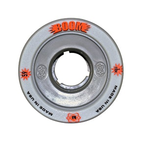 ATOM Boom Hollow Core 59mm Quad Derby Wheels (4pk) Grey (XFirm)