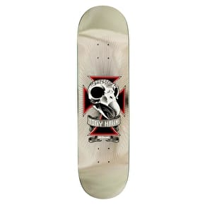 Birdhouse Hawk Skull 2 Pro Skateboard Deck - Chrome Foil 8.25