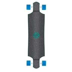 Santa Cruz Hand Drop Down Complete Longboard - Blue 40