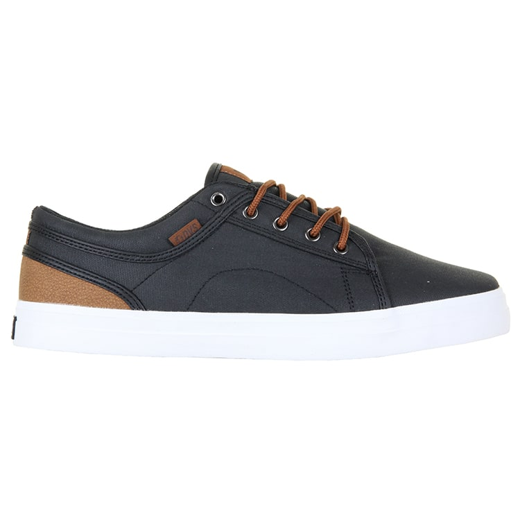 DVS Aversa Skate Shoes - Black/Brown Canvas