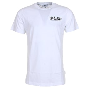 WeSC Max Front & Back Print T-Shirt - White