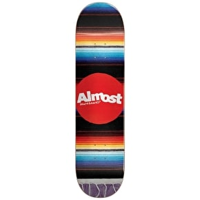 Almost Mexican Blanket Skateboard Deck 8