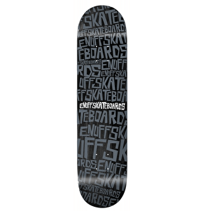 Enuff Scramble Skateboard Deck - Black