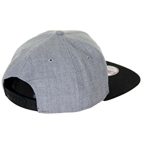 New Era Snapback Cap - SA 49ers Heather Grey