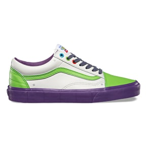 Vans x Toy Story Old Skool Shoes - Buzz Lightyear/True White