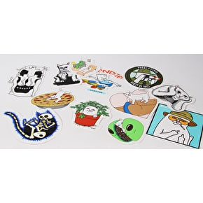 RIPNDIP Sticker Pack - Assorted 12 Pack