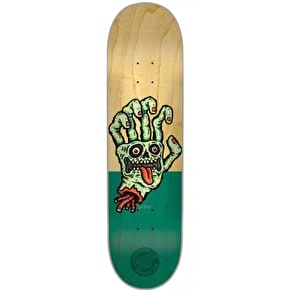 Santa Cruz Sieben Hand Team Skateboard Deck - 8.2