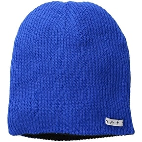 Neff Daily Reversible Beanie - Blue/Black