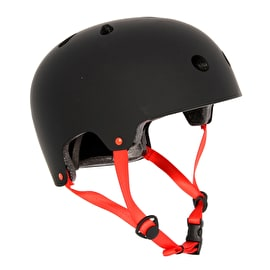 SkateHut Basic Helmet - Black/Red