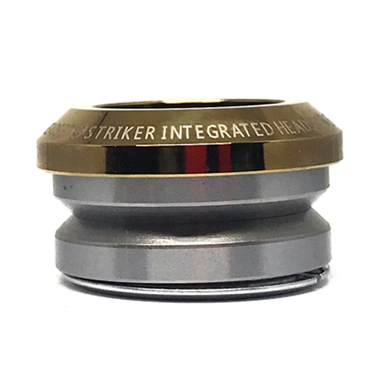 Striker Integrated Scooter Headset - Gold