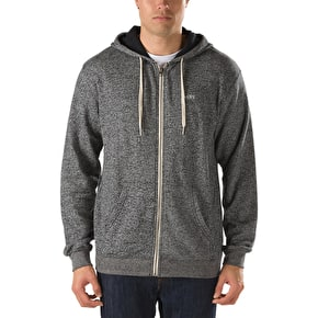 Vans Core Basics Zip Hoodie - Black / Heather