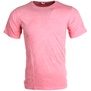 Global Technacolour T-Shirt - Pink/White