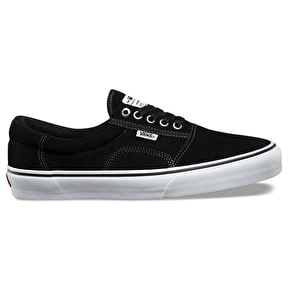 B-Stock Vans Rowley Solos Skate Shoes - Black/White/Pewter UK 10 (Box Damage)