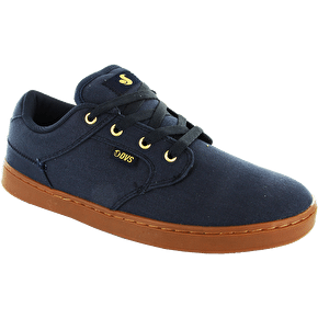 DVS Quentin Skate Shoes - Navy Canvas