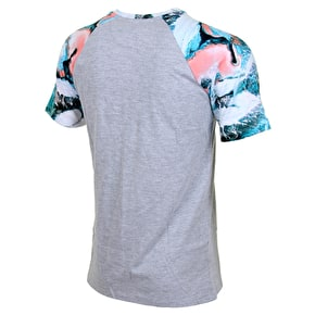 Hype Peach Snow Raglan T-Shirt