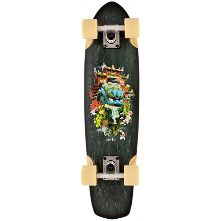 D-Street Surreal Complete Cruiser - Oriental 28""