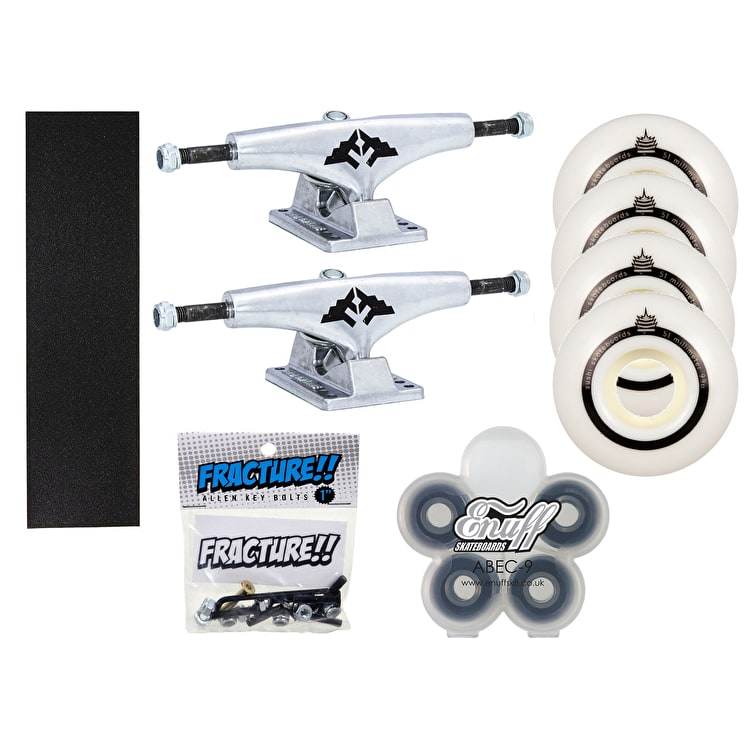 "Fracture x Enuff x Sushi Undercarriage Kit - 5.5"" (Beginner)"