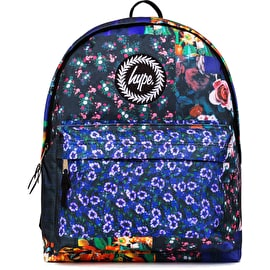 Hype Floral Patches Backpack - Multi