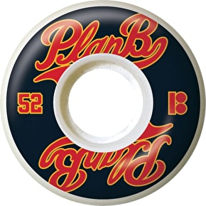 Plan B Past Time Skateboard Wheels - 52mm