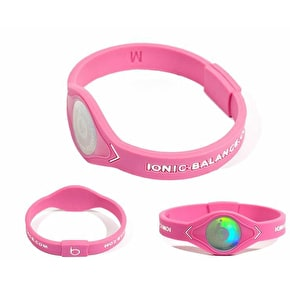 Team Ionic Band Pink and White