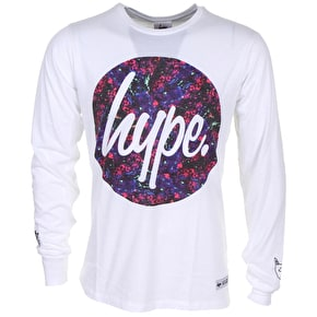 Hype Motivator Circle Print Long Sleeve T-Shirt