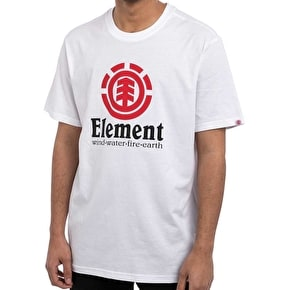 Element Vertical Kids T-Shirt - Optic White