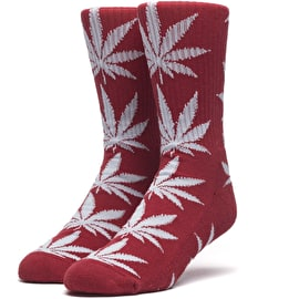 Huf Plantlife Socks - Resort Red
